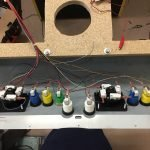 Control panel wired.