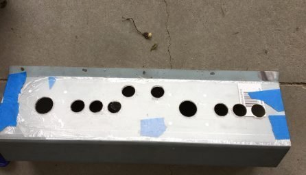 Holes drilled out