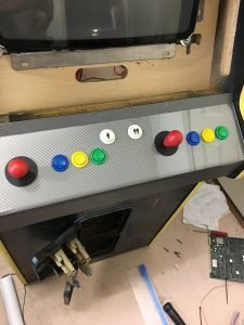 Finished control panel.