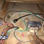 Wiring with wire nut
