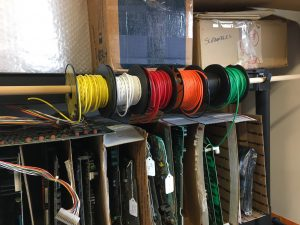 Wire Spool Rack