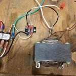 Wiring with distribution block