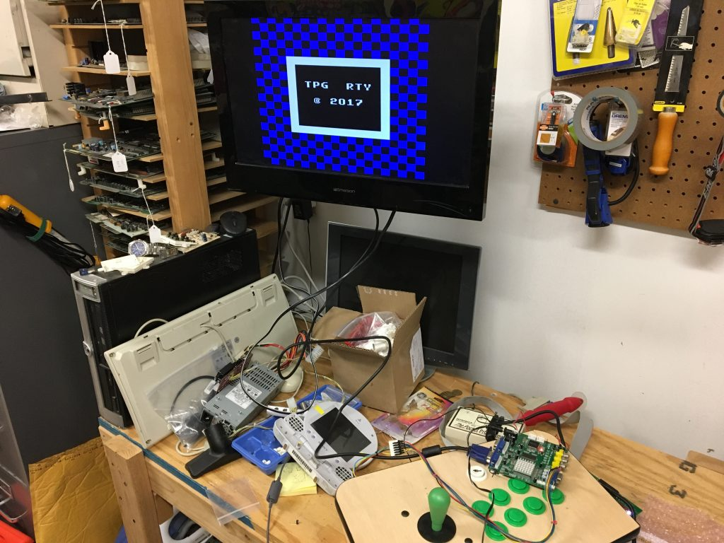 Testing with shop monitor