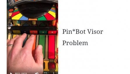 Pinbot Visor Problem
