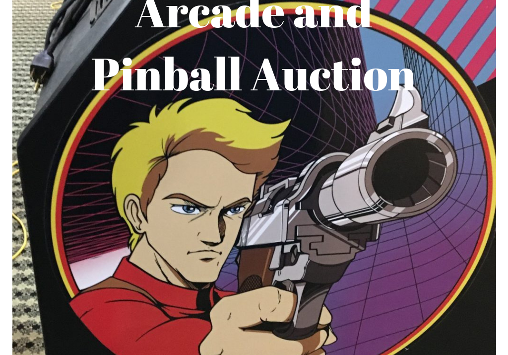 Arcade Pinball Auction