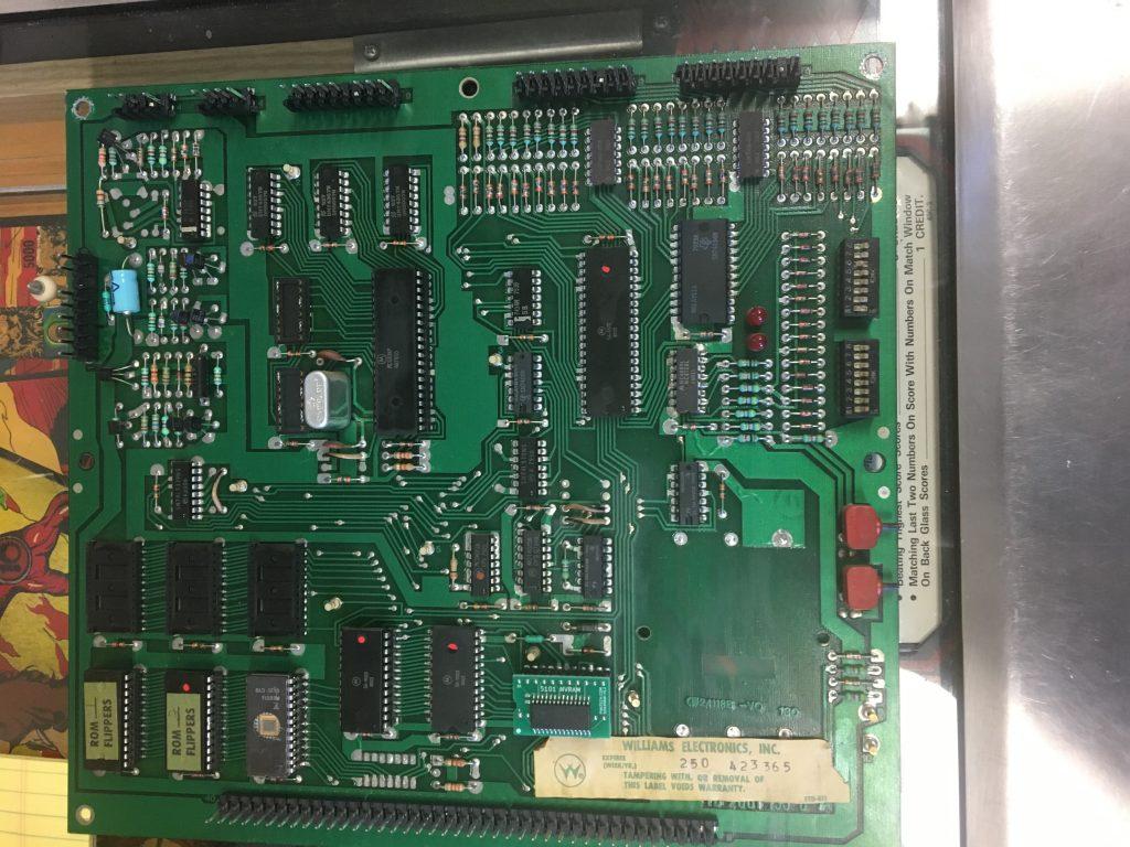 system6 cpu board