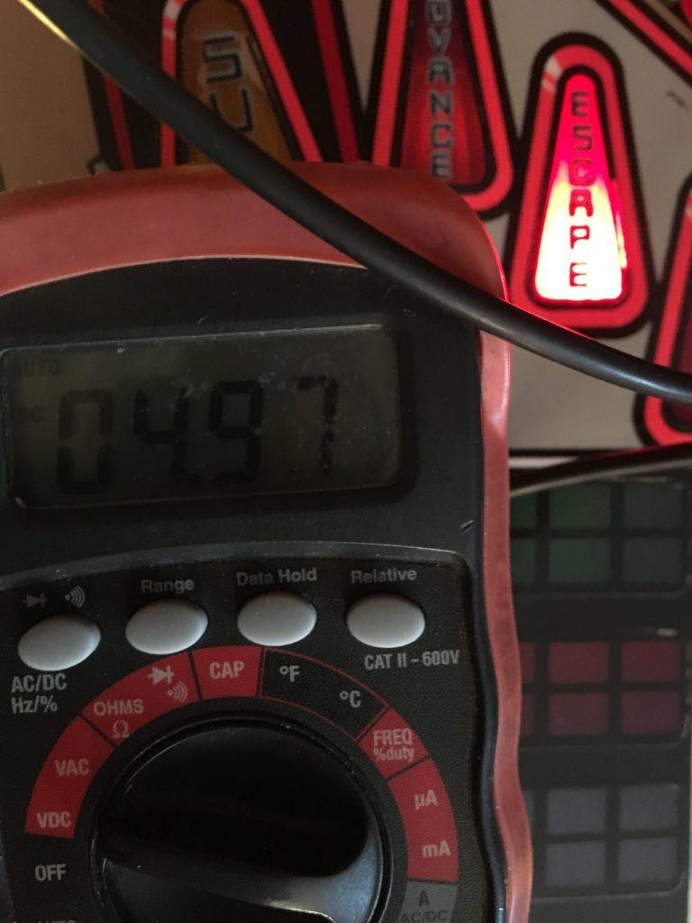 voltage reading