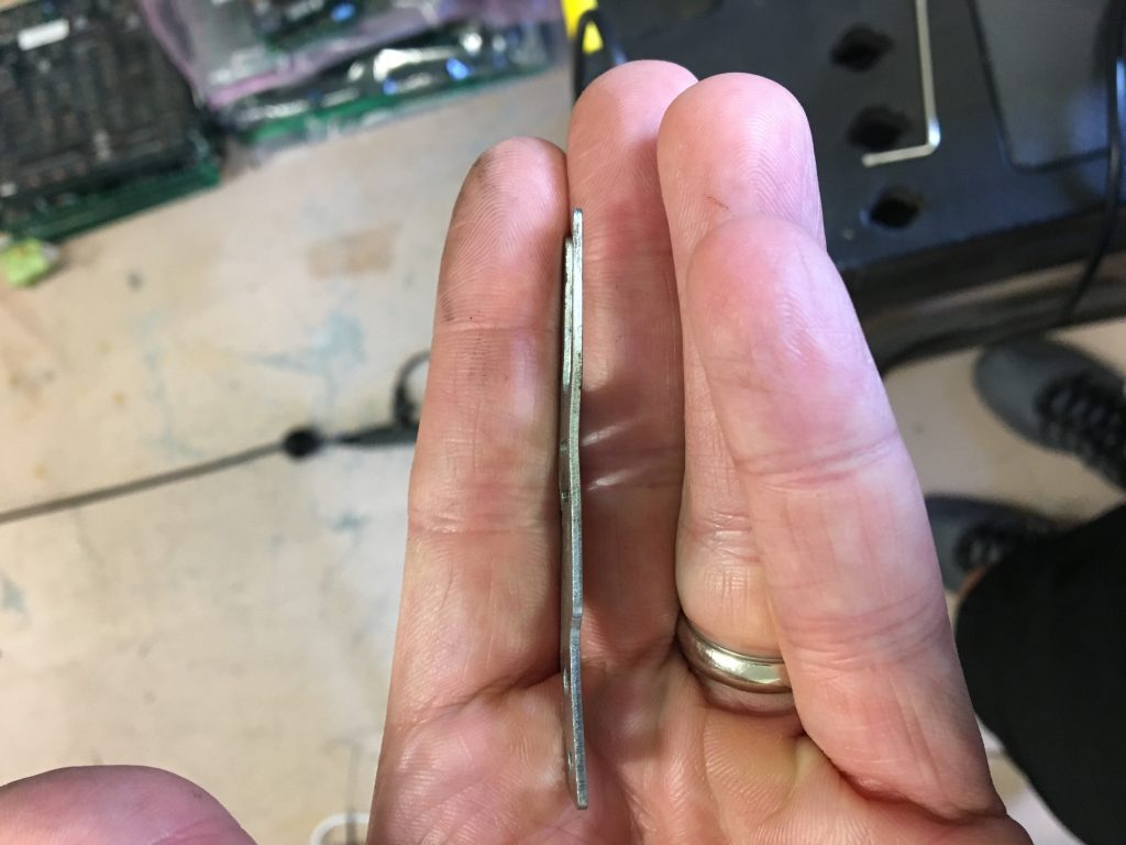 straightened fork
