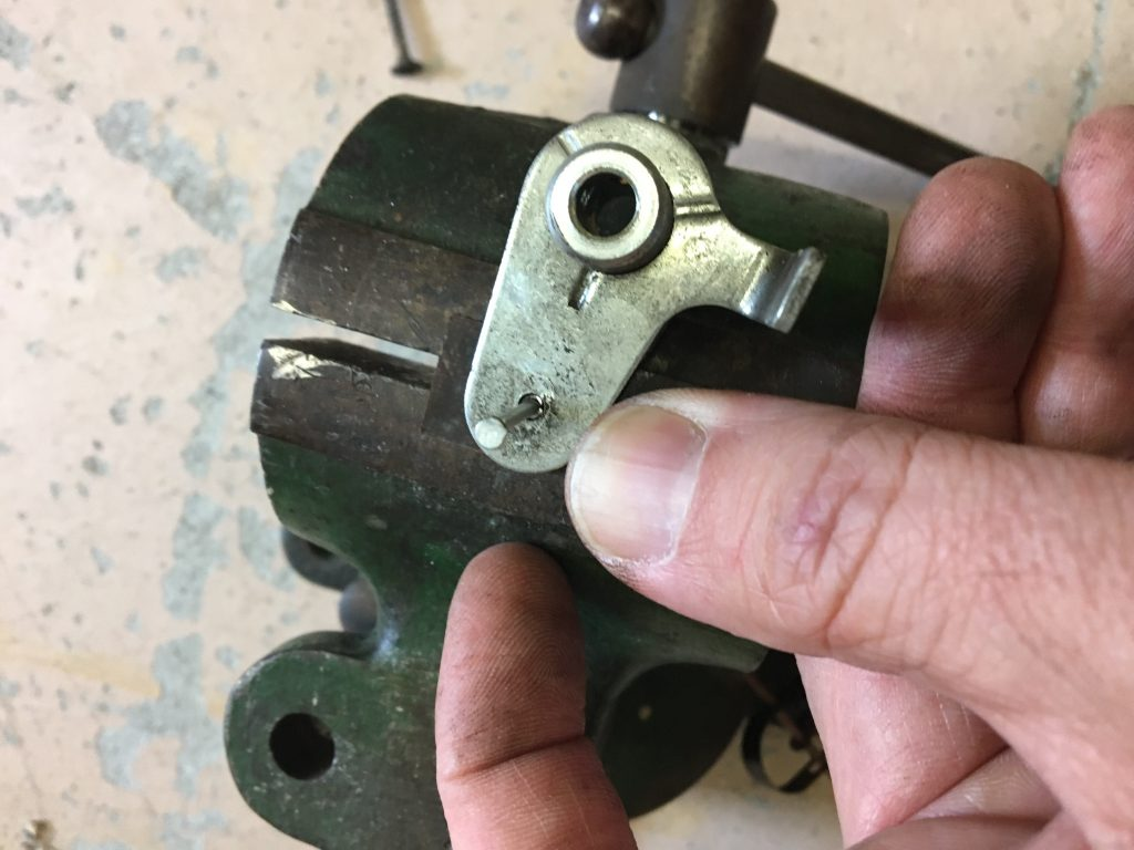Removing the roll pin