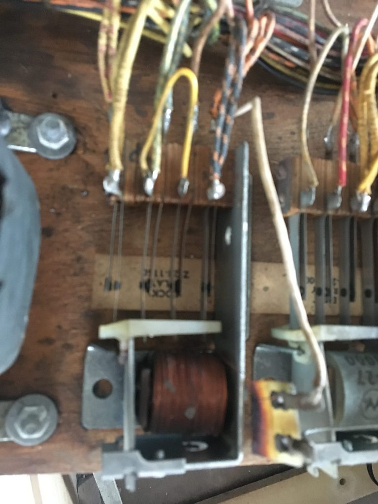 Burnt lock relay