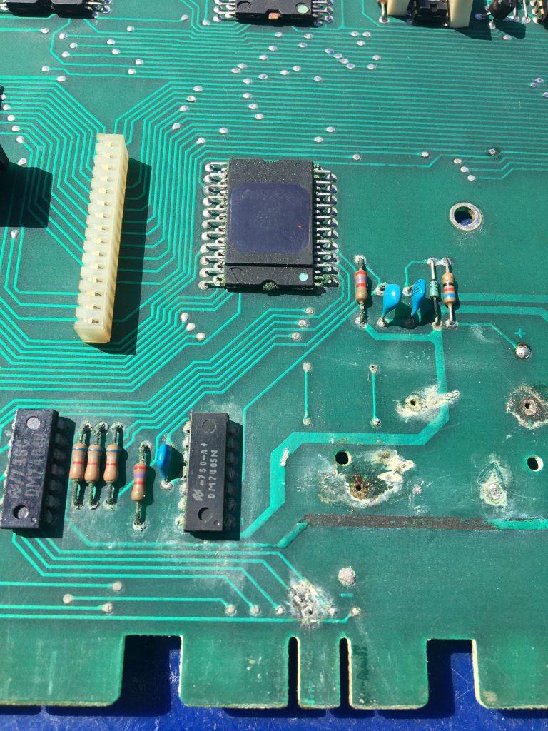 Battery corrosion