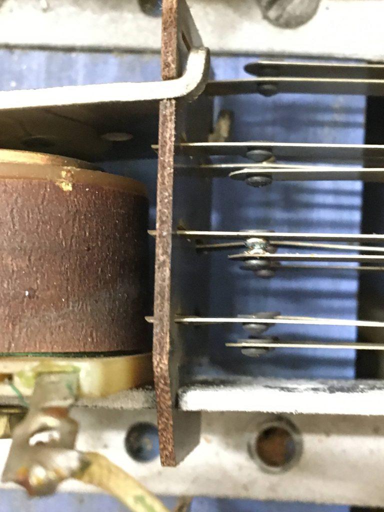 Switch soldered shut