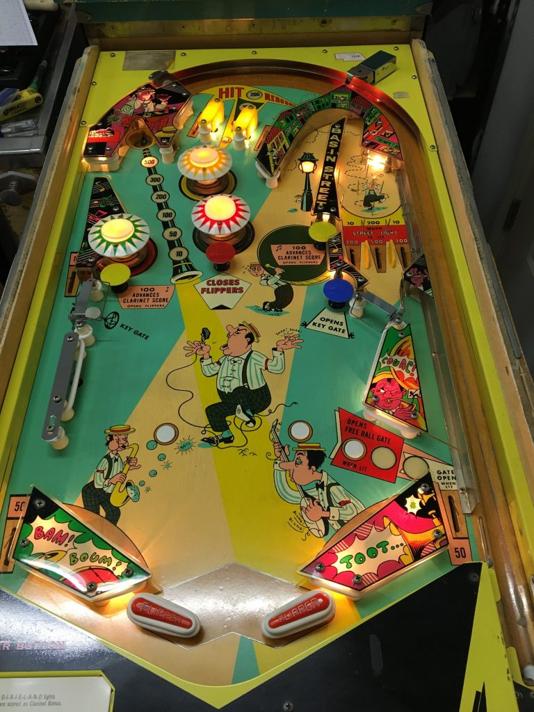 Playfield all cleaned
